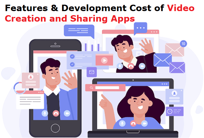 Features Vs Development Cost of Video Creation and Sharing Apps