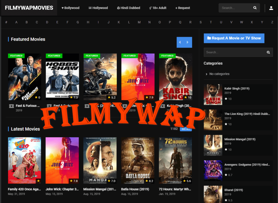 Filmywap - Download & Watch HD Movies Online for free